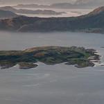 Kvarøya fra Lurøyfjellet